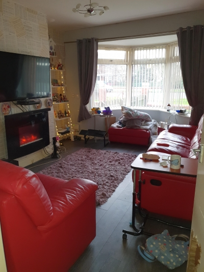 3 BEDROOM FULLY ADAPTED WITH THROUGH FLOOR LIFT