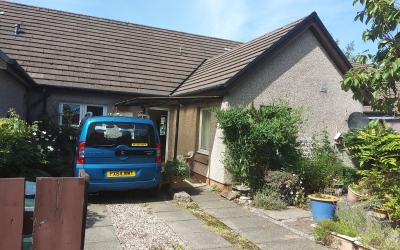 2bdrm adapted MT bungalow OBAN.for same in or around DINGWALL