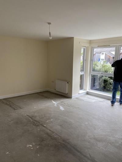 1 Bedroom ground floor flat,Big rooms and plenty of storage