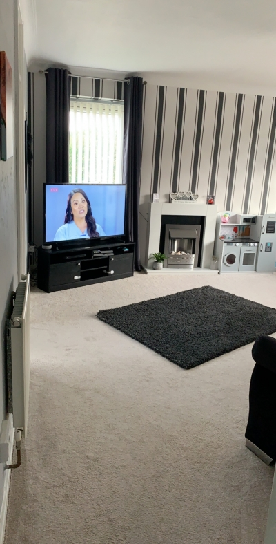 2 bed flat swap for 2/3 bedroom house