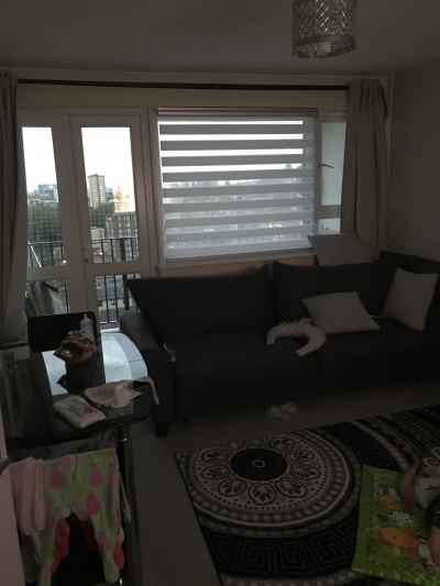 Large 1bed flat with large balcony located in Hackney central