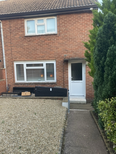 2 bedroom semi detached house with solar panels exchange wanted