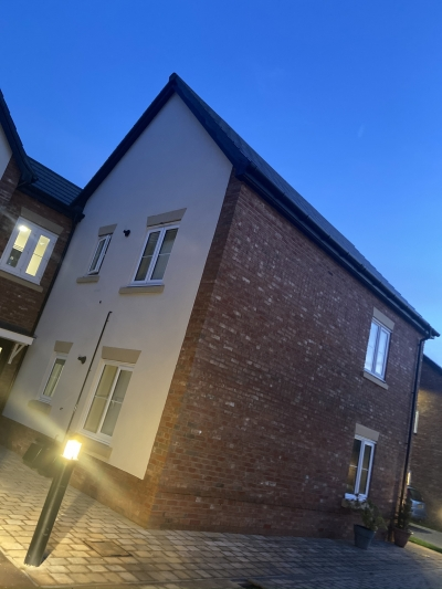1 bed new build ground floor apartment in marston green
