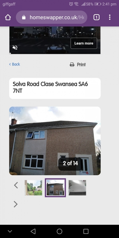 Looking for one bed flat swap