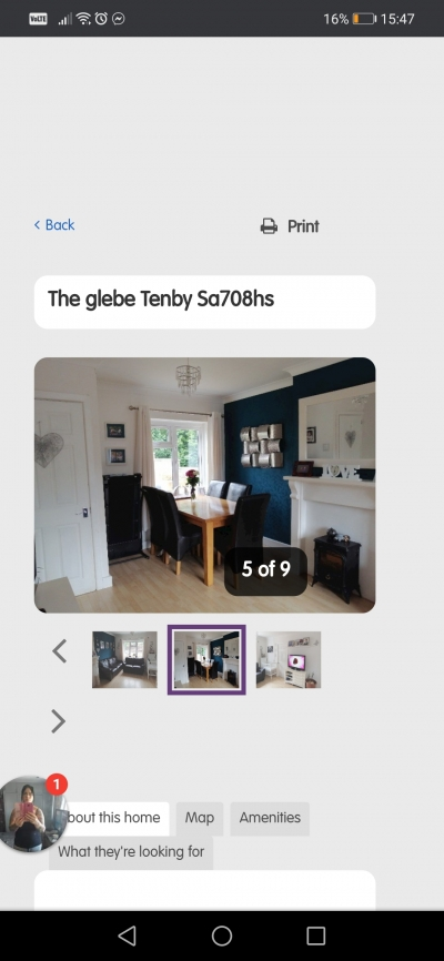 3 bed Tenby looking for 4 bed kidwelly