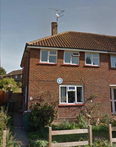 3 bed end of terrace house west sussex
