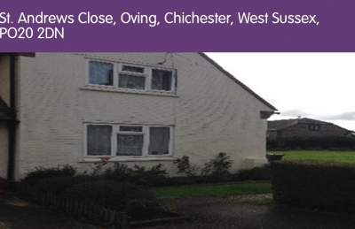 End of terrace, 2 bed house in oving near Chichester