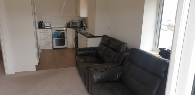 New 1 bed flat on first floor very clean