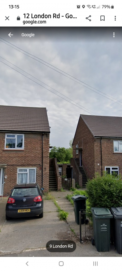 Large 2 bed maisonette in greenhithe