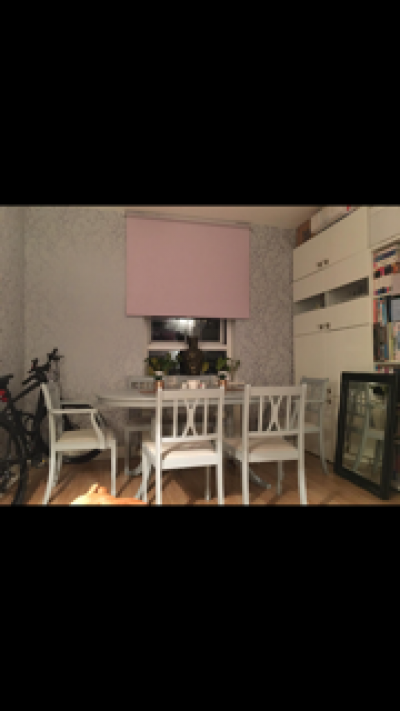 2 bed house to swap for 2-3 bed with driveway or garage